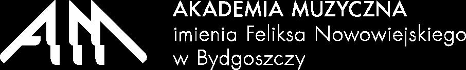 Logo Akademia Muzyczna im. Feliksa Nowowiejskiego w Bydgoszczy